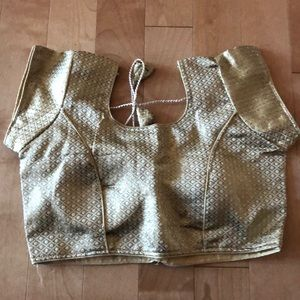 Gold blouse size 34